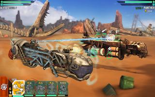 Sandstorm Pirate Wars MOD APK high damage