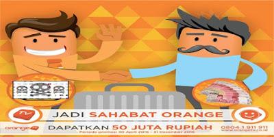 Cara Mendapatkan Uang 50 Juta Dari Orange TV