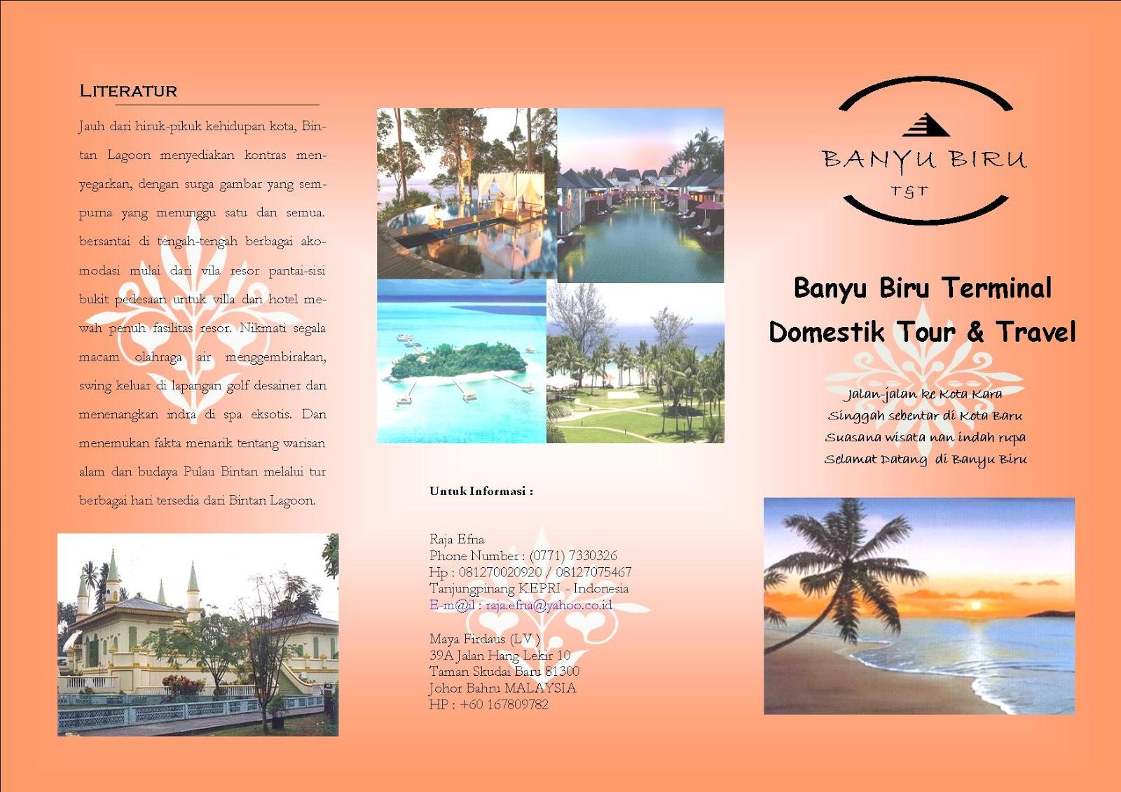 Banyu Biru Tour Travel