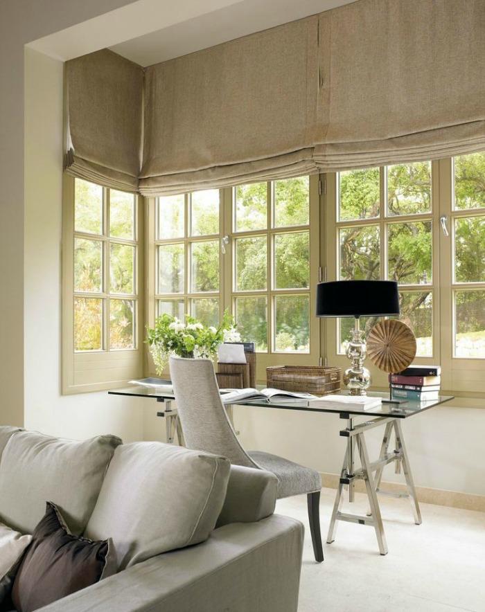 Una pizca de hogar a o nuevo cortinas nuevas - Cortinas para salon clasico ...