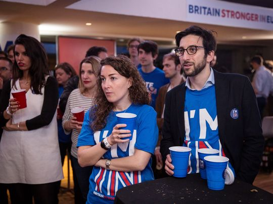 U.K. broadcasters: Britain votes to leave European Union