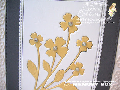 inlay flowers detail card