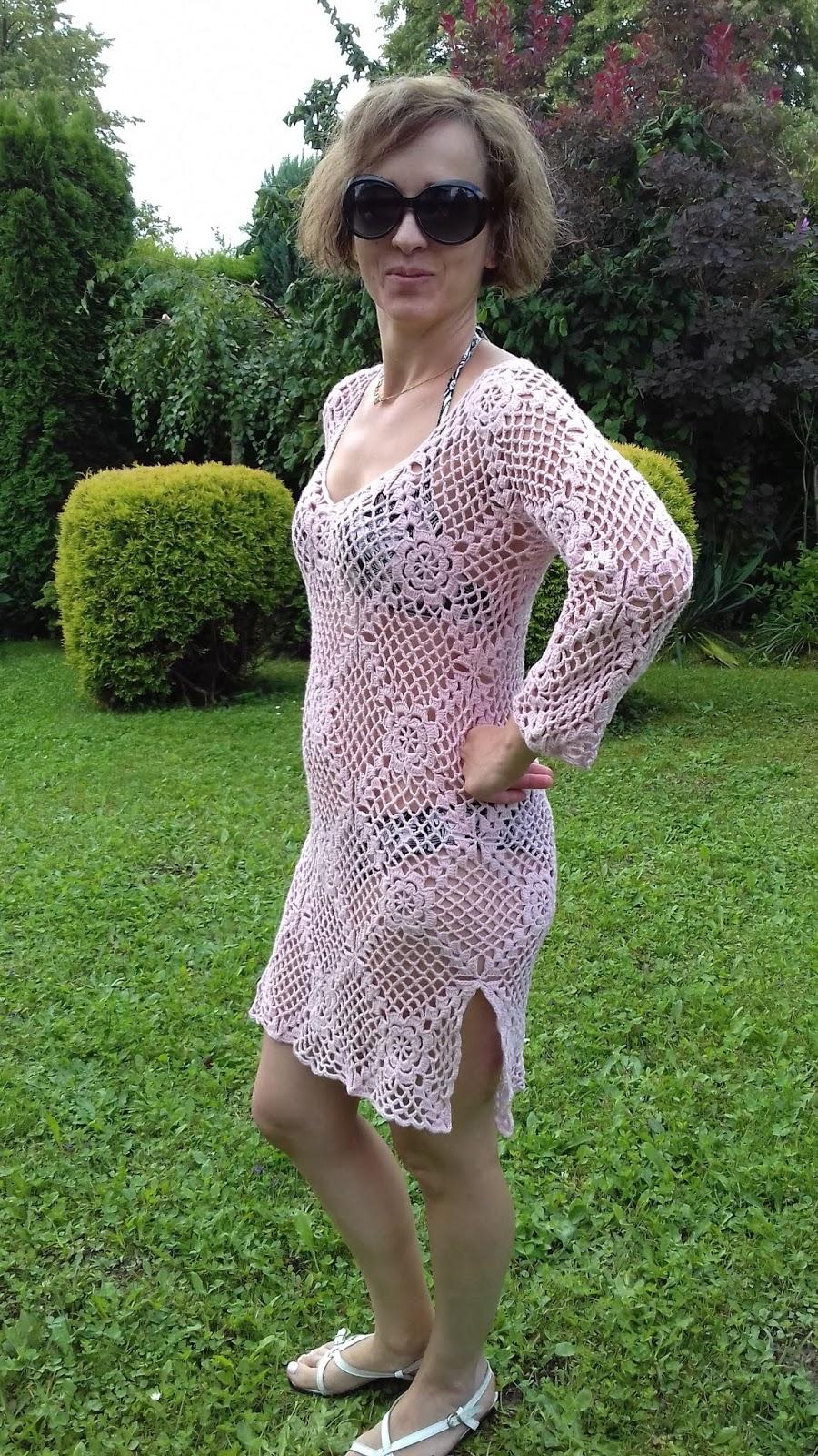 eb47954f8e To pierwsza z serii sukienek i tunik plażowych