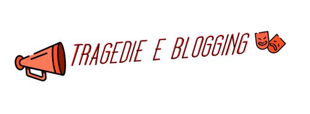 blogging tragedie greche maschere