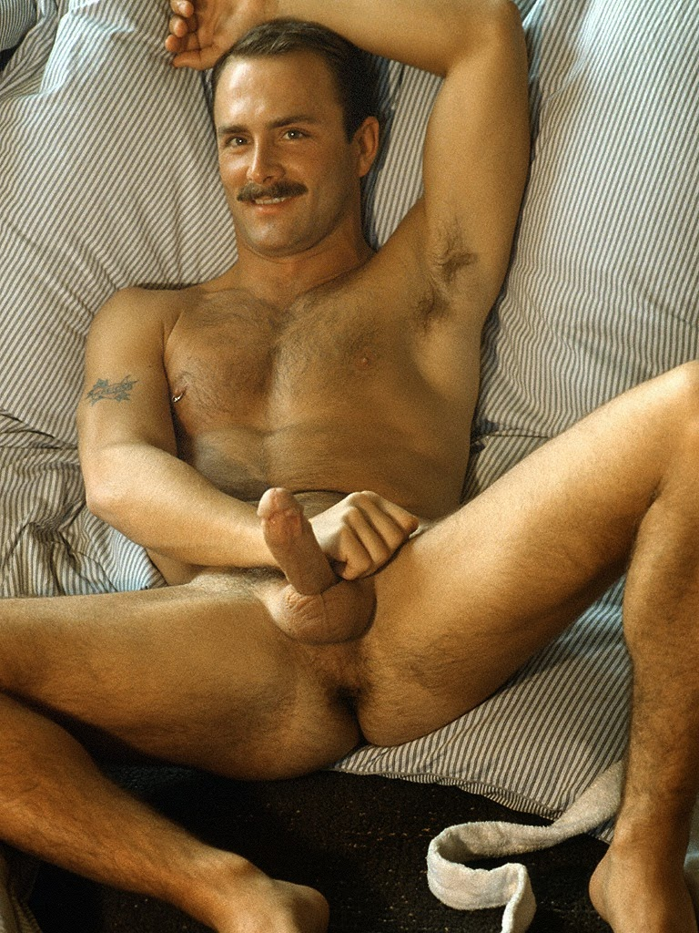 Retro male porn stars something is