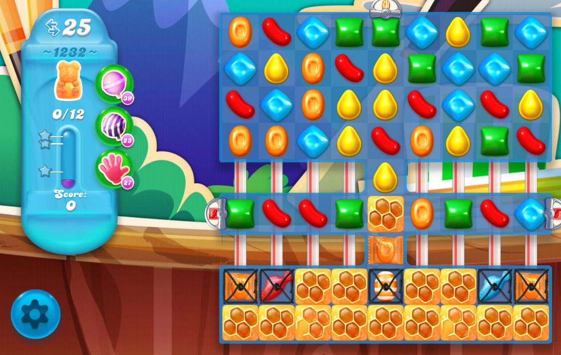 Candy Crush Soda Saga level 1232