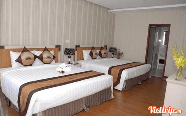 Phòng ngủ ấm áp và rộng rải