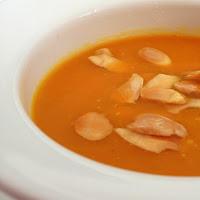 Sopa de abóbora e curgete