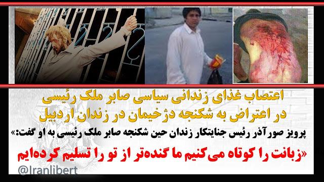 زندانی سیاسی محمد صابر ملک رئيسی