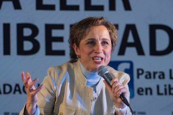 Debemos eliminar todas las pensiones a ex presidentes mexicanos: Carmen Aristegui.