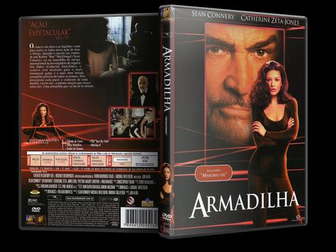 Capa DVD Armadilha