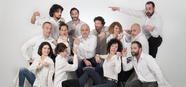 Juan Carlos Pérez de la Fuente, Alberto Jiménez, Chema Ruiz-Senosiain, Myriam Gallego, Beatriz  Argüello, Alberto Velasco, Maru Valdivieso