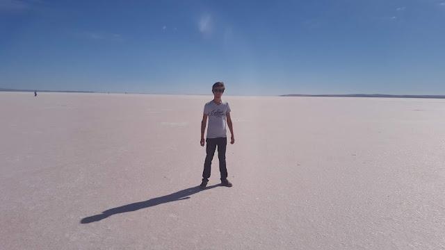 Harun İstenci Tuz Gölünde