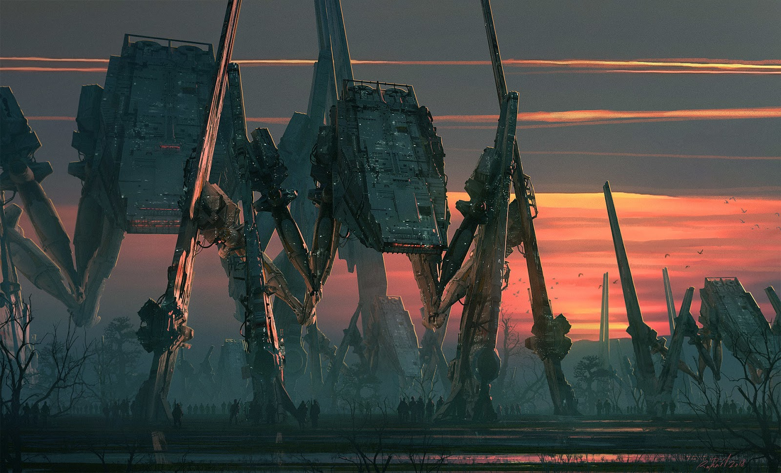 Images: A Collection Of Sci-Fi Concept Art From Raphael Lacoste
