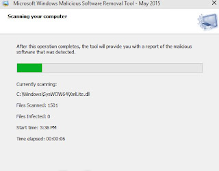 Programma Malicious Software Removal Tool