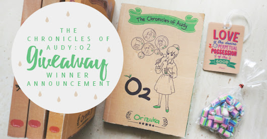 The Chemistry of Audy: O2 Giveaway: Winner Announcement