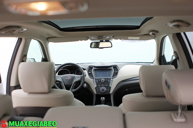 Giới thiệu Hyundai SantaFe 2.4L máy xăng phiên bản tiêu chuẩn 2WD ảnh 10
