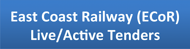 East Coast Railway (ECoR)  Live/Active Tenders�