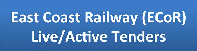 East Coast Railway (ECoR)  Live/Active Tenders�