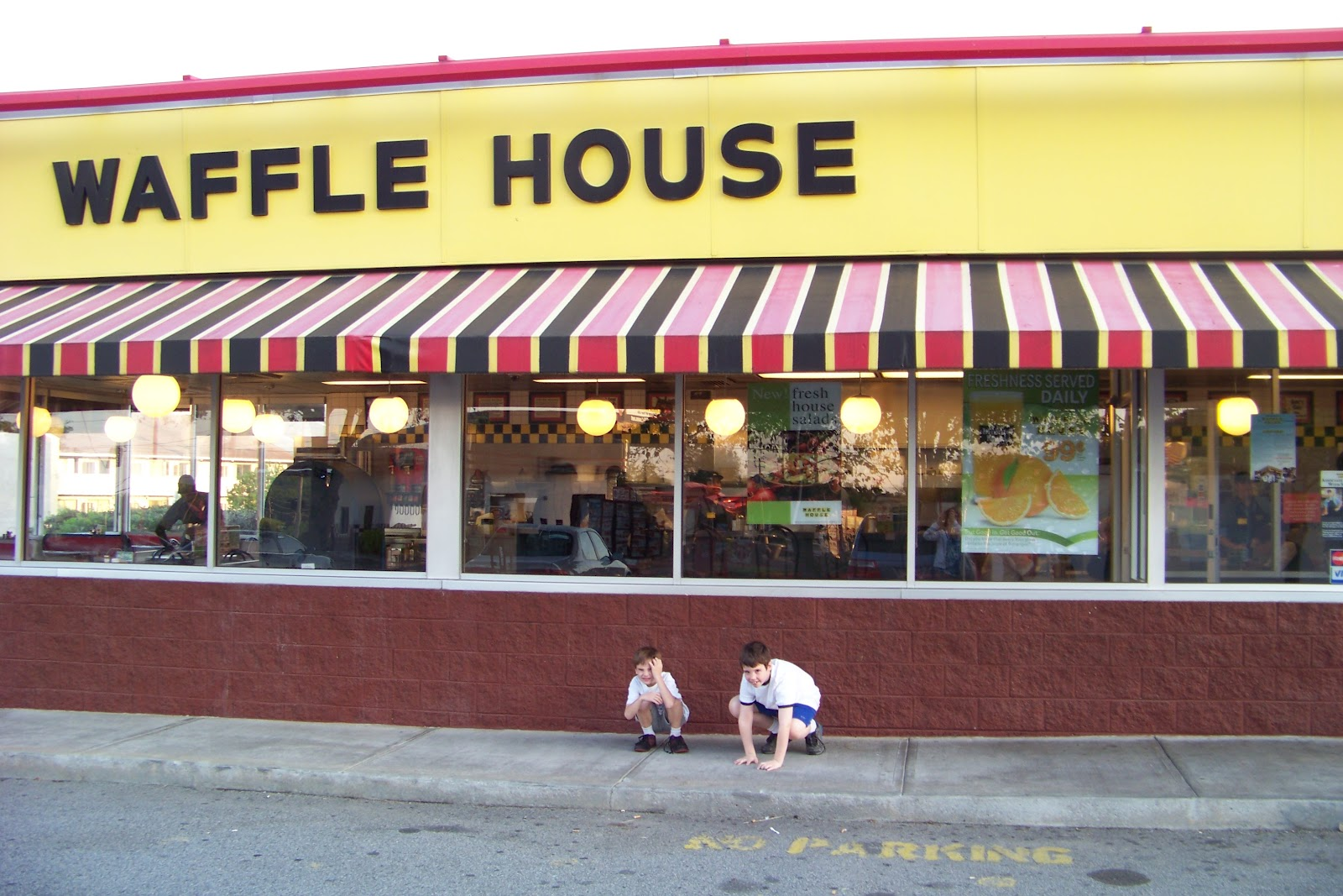 We Band Of Mothers Welcome To The Waffle House