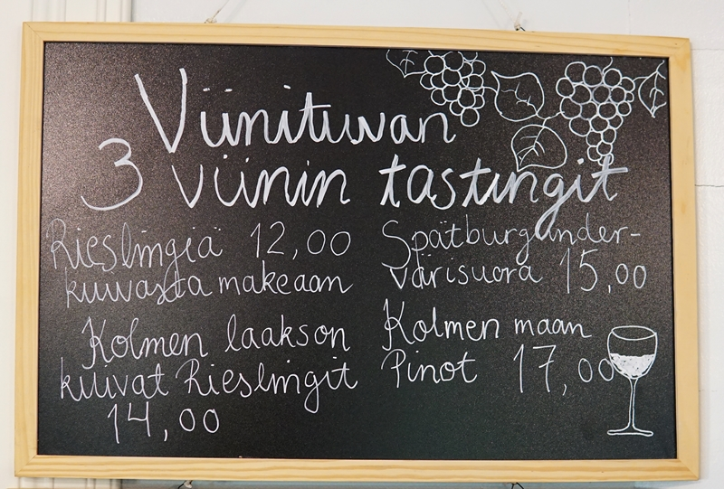Viinitupa vuorenmaja, viini, tasting, mänttä