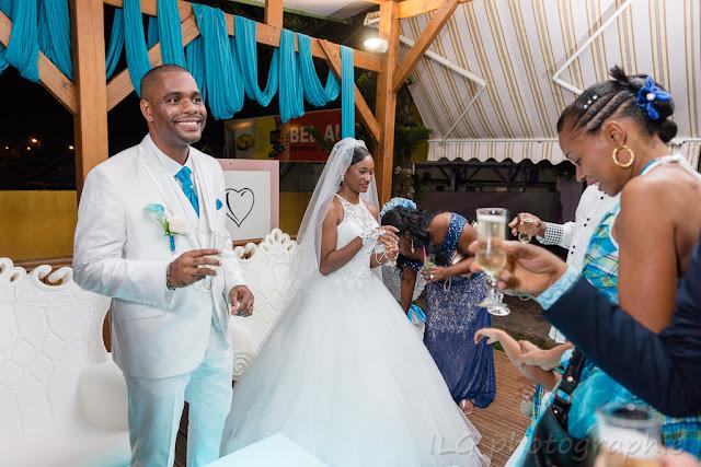 mariage Guadeloupe domaine de la Rose réception