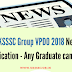 UKSSSC Group VPDO Exam 2019 New Qualification - Any Graduate can apply