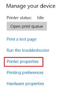 setting printer untuk digunakan bersama