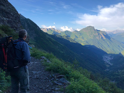 Start day on the 6th day from Rifugio Curò to Rifugio Albani.