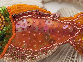 detail, Happy Fish by Karen Williams