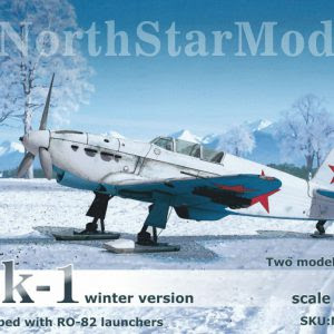 1/144 Yak-1 Winter Version from North Star