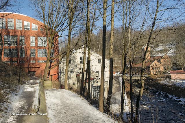 Antiguas Fábricas reutilizadas, Akerselva - Oslo por El Guisante Verde Project