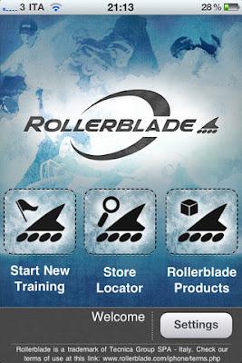 Rollerblade skating app