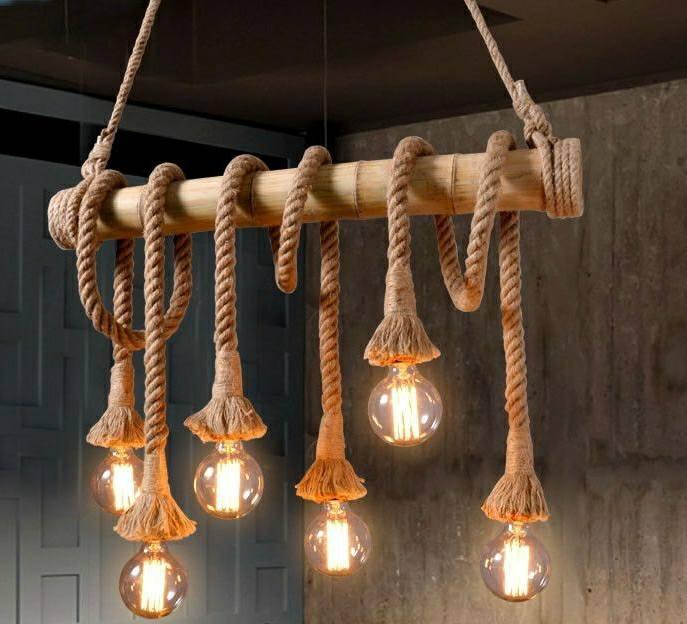 Diy Rope Light Ideas Easy Craft