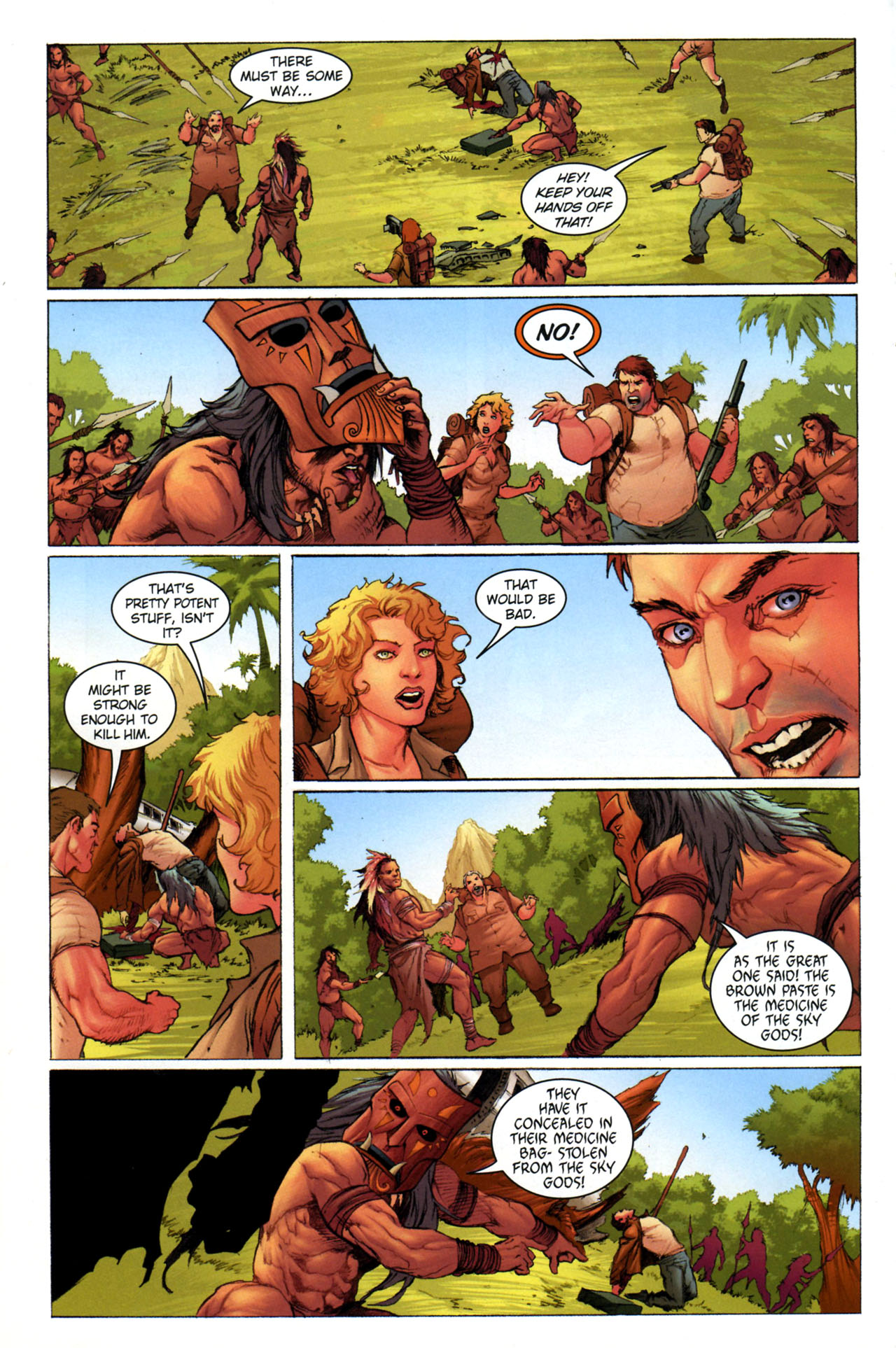 Read online Jungle Girl comic -  Issue #3 - 7