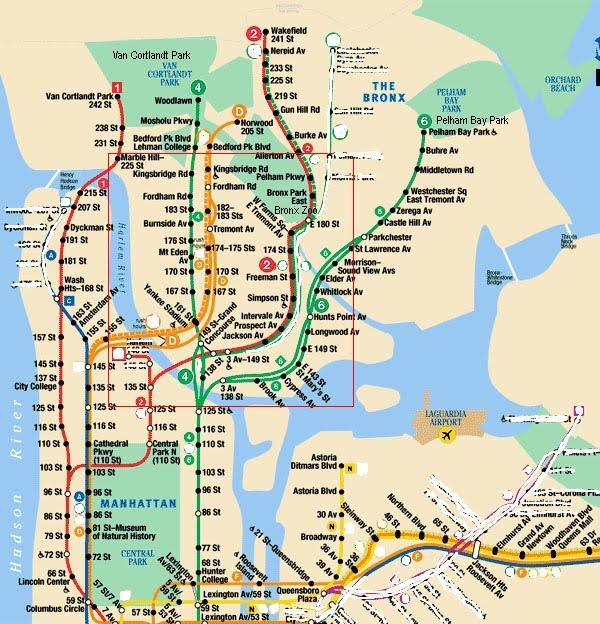 Subway Map 6 Train.Nyc Subway Map 6 Train Smoothoperators