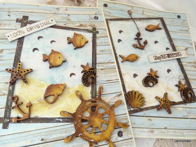 morski klimat i morskie scrapki