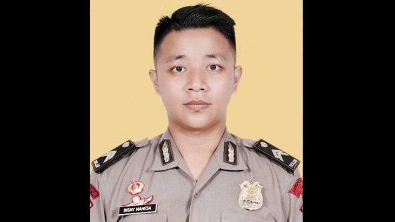 Briptu Bisma Mahesa, penembak mahasiswa Jember
