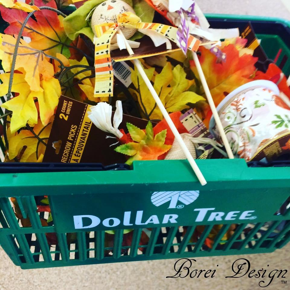 Dollar Tree Store: DIY Dollar Store Fall Welcome Wreath Tutorial
