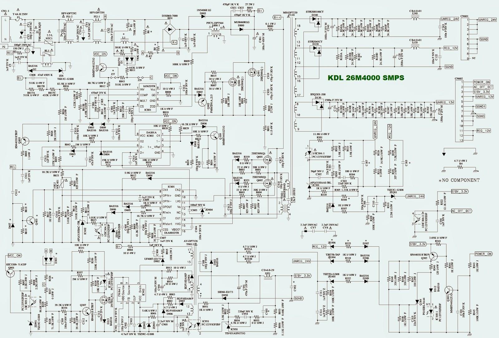 lg plasma tv schematic diagram