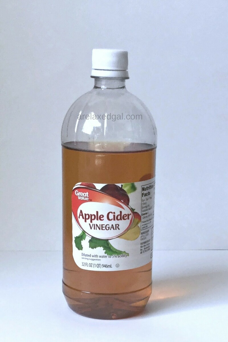 Why I Rinse My Hair With Apple Cider Vinegar A Relaxed Gal