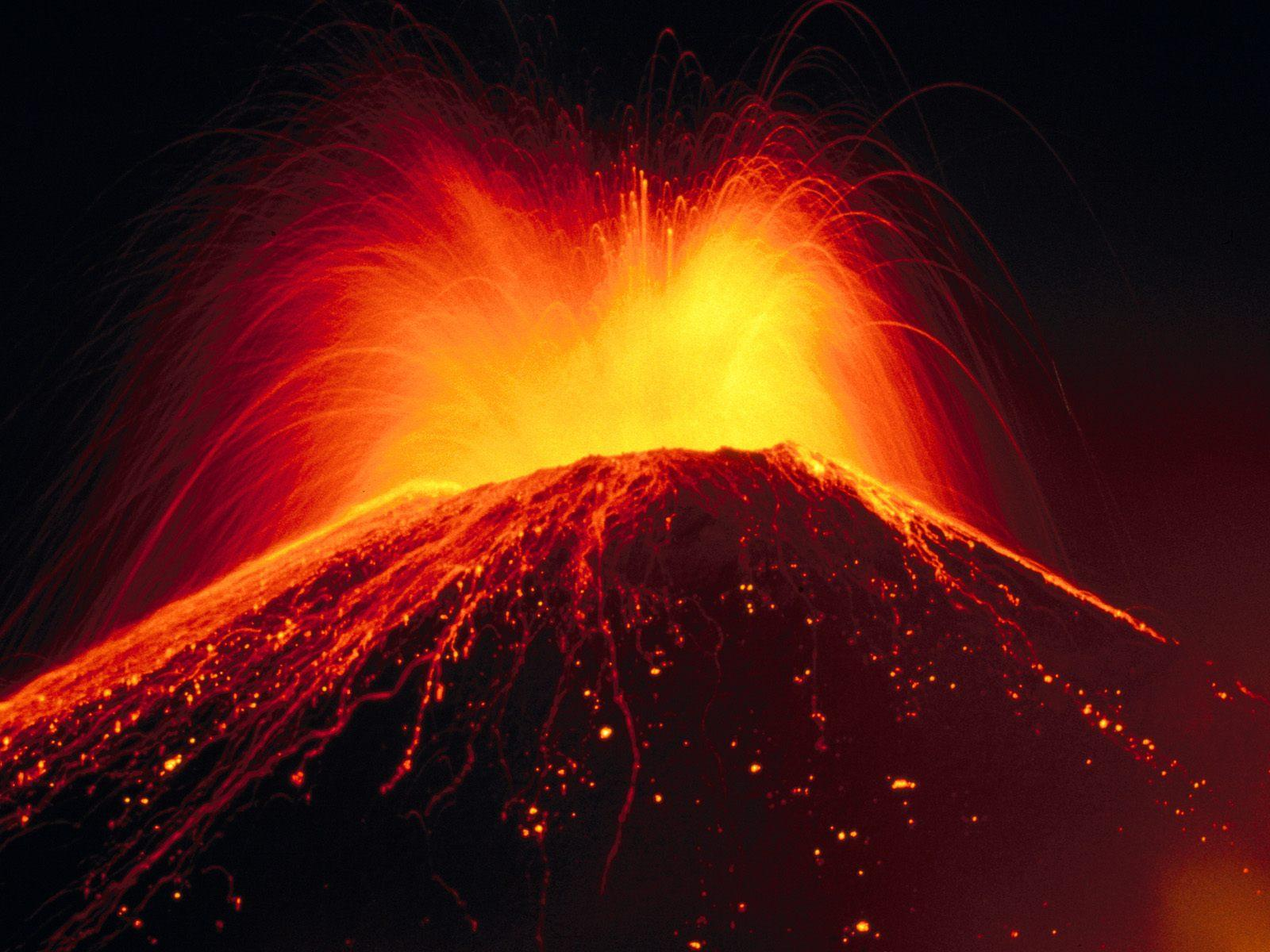 Volcano Eruption Dream Meaning