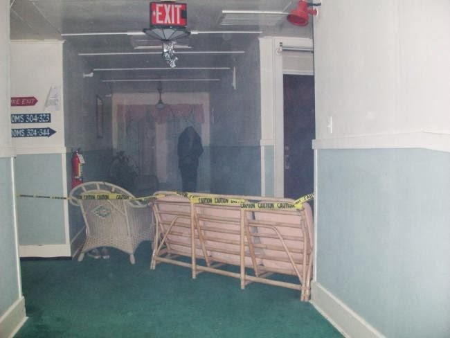 Hotel Conneaut 3rd Floor Barricade