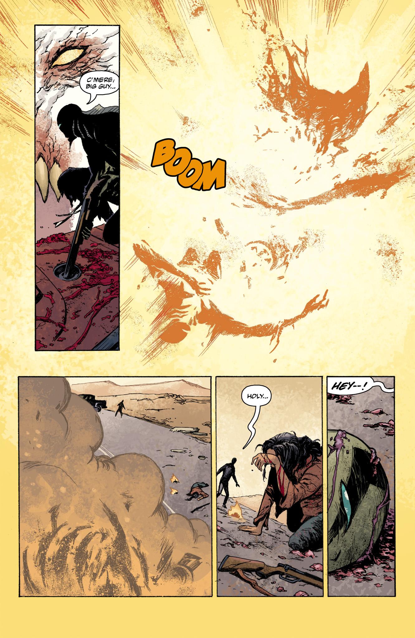 Read online Abe Sapien comic -  Issue #7 - 20