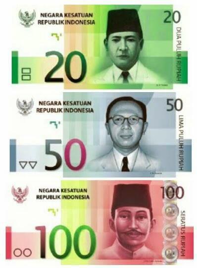 Gambar Uang Baru Indonesia 2016 Yang Beredar Adalah Palsu