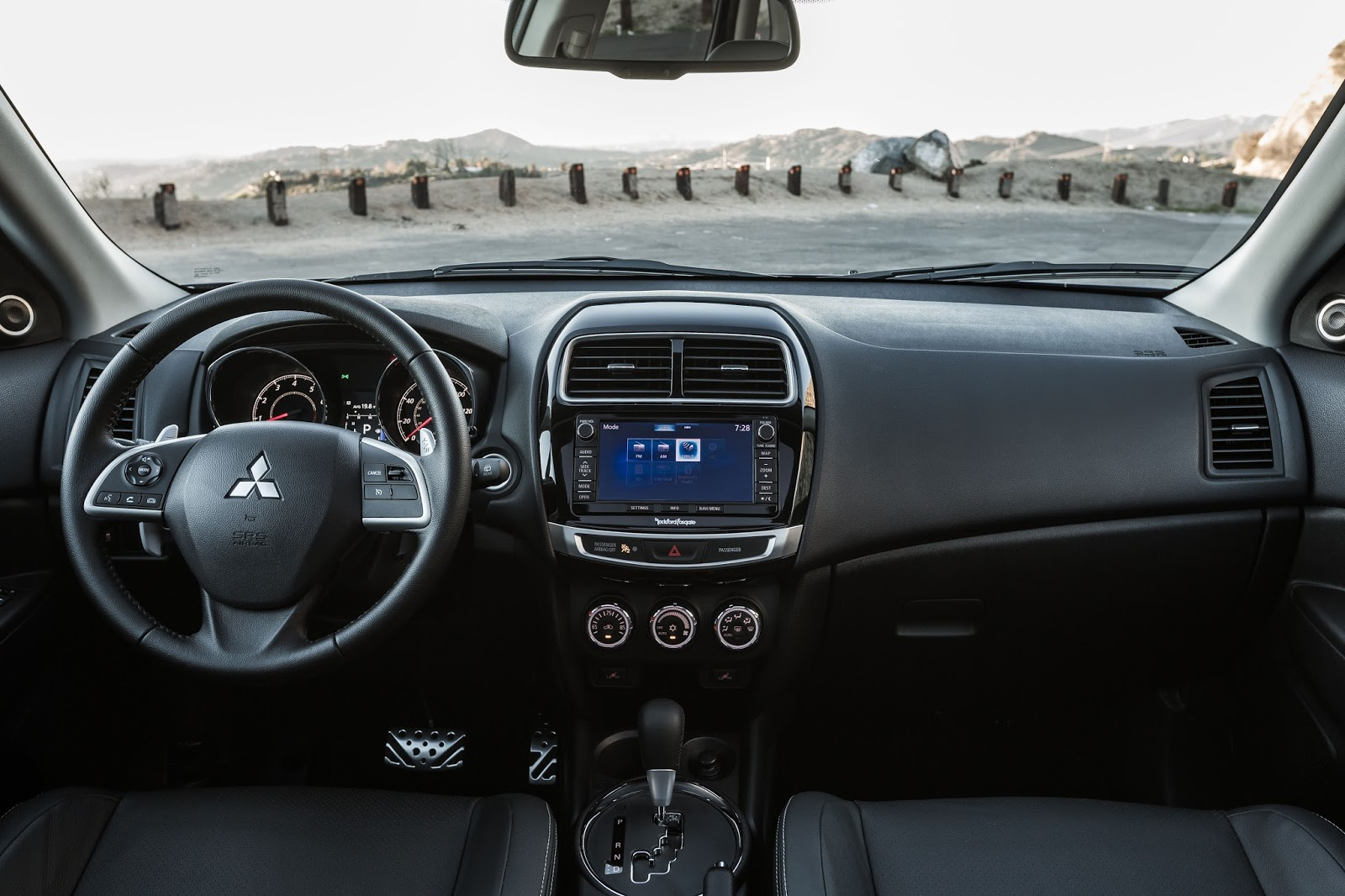 2016 Mitsubishi Outlander Sport Gt Interior