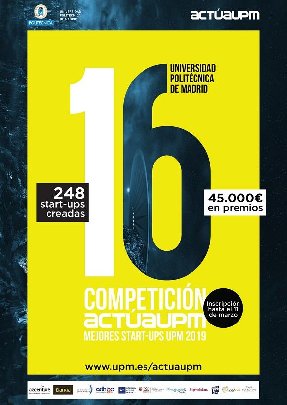 ¡Apúntate ya a la 16 competición!