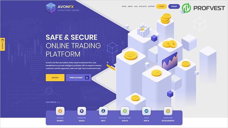 AvonFX обзор и отзывы HYIP-проекта