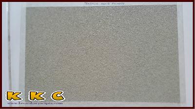 Contoh cat tekstur pasir silika