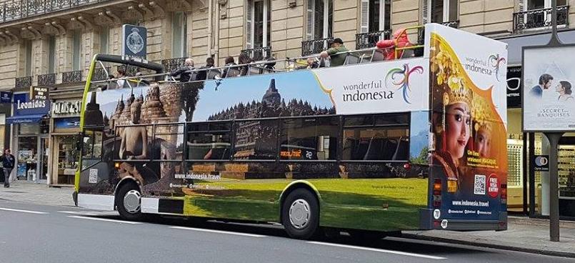 Wonderful Indonesia Hadir di Ajang Euro 2016 Paris [Kementrian Pariwisata]